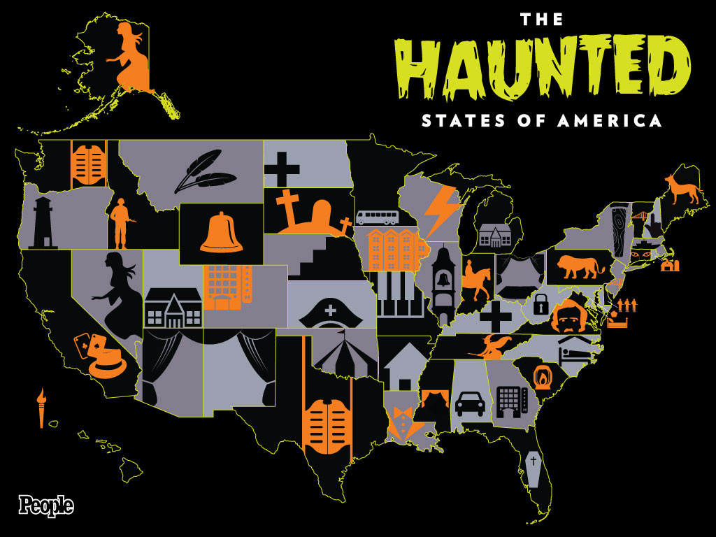 People com's Map Of Iconic Ghosts Completely Misses The Boat